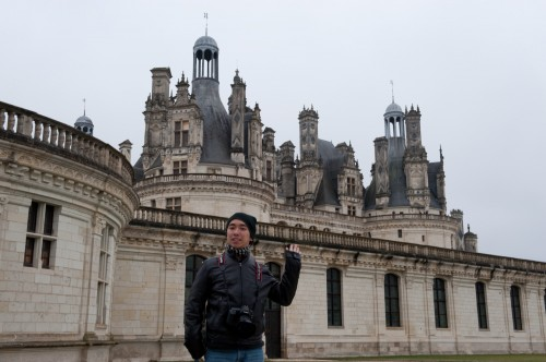 Side angle of Chambord. Do I look ill?