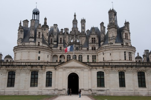 Front view of Chambord