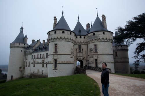 Parting shot of Chaumont - if I look annoyed that's 'cuz I'm about to collapse to the floor