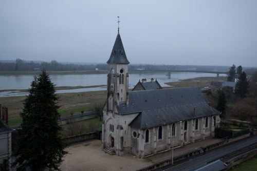 Church at Chaumont's town