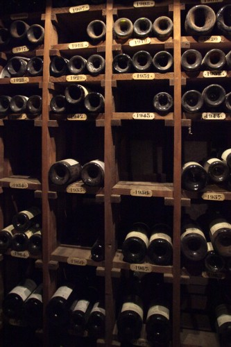 Wine stored and sorted by year - all up for purchase