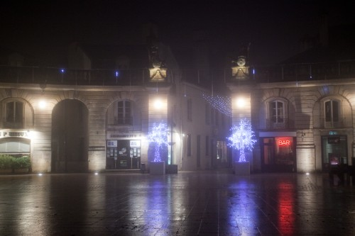 After the rain... Dijon city square