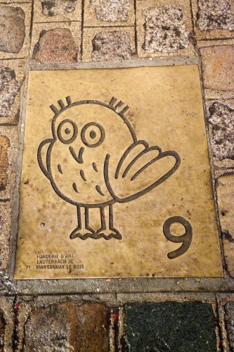 Owl No. 9, on the ground