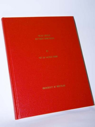 My REd Red Thesis
