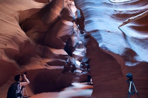 YFA shooting the canyon